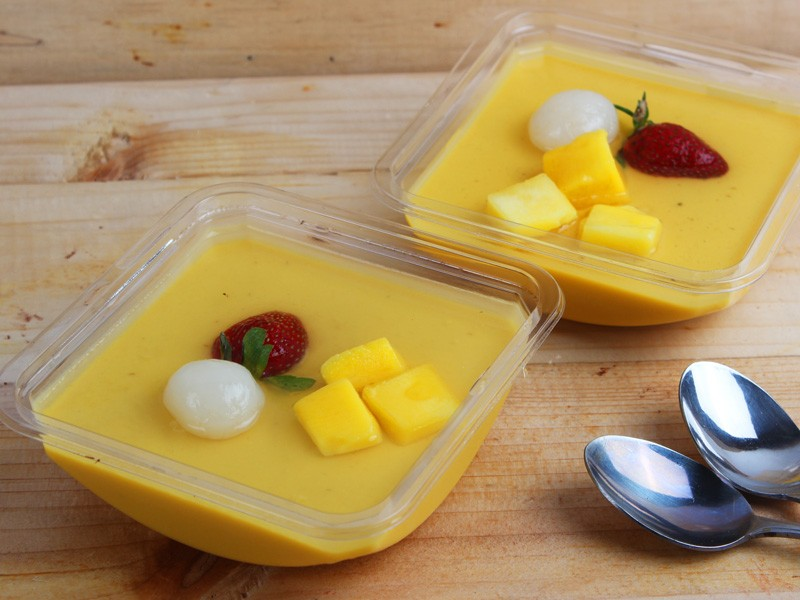 Mango Pudding - Igor's Pastry products
