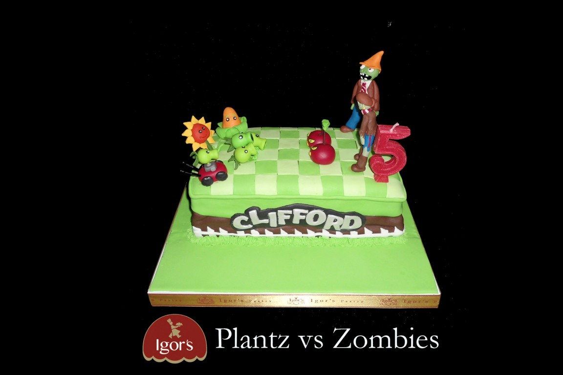 Plants vs Zombies - Igor's Pastry products