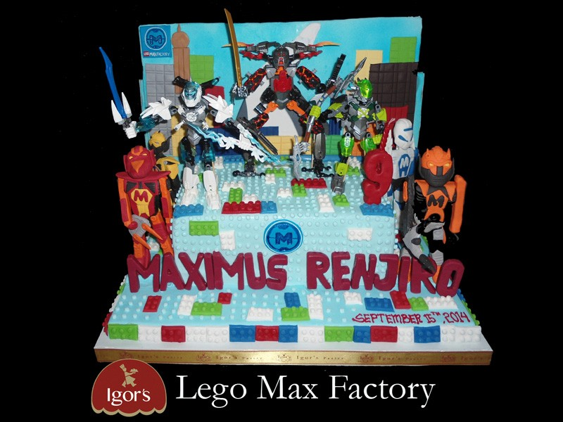 Lego Factory - Igor's Pastry products