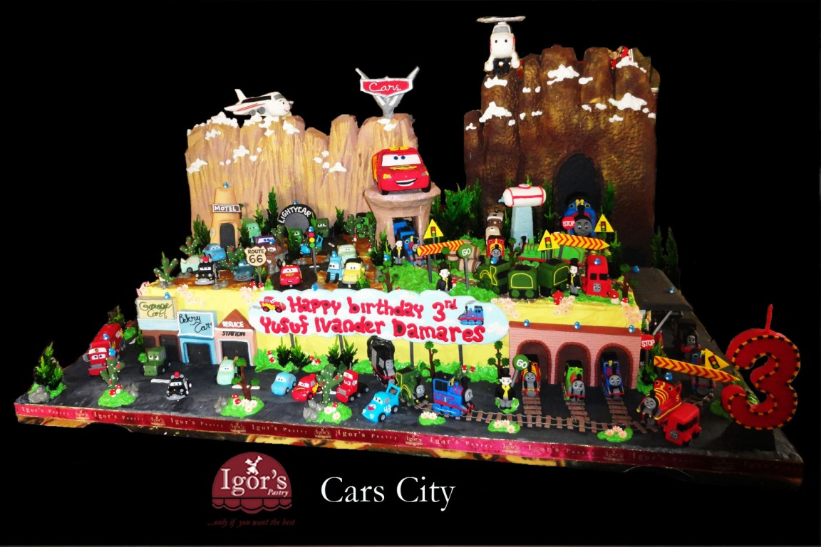 Cars City - Igor's Pastry products