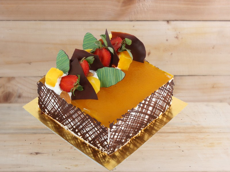 Mango Cheese Cake - Igor's Pastry products