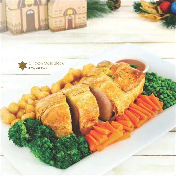 Chicken Meat Block - Igor's Pastry products