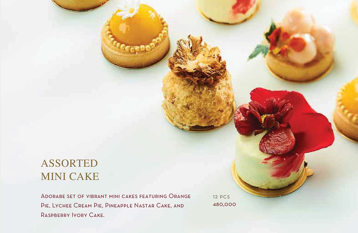 Assorted Mini Cake - Igor's Pastry products