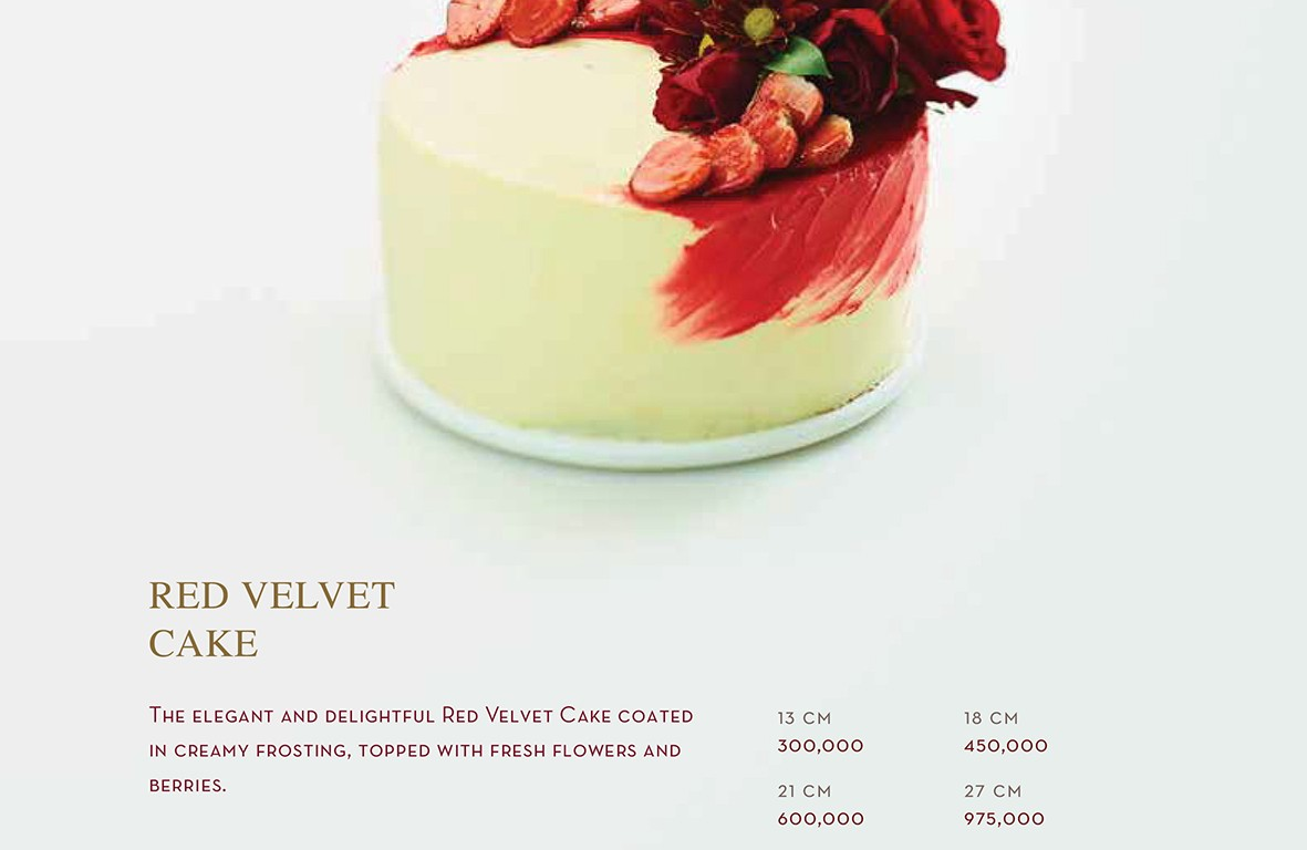 Red Velvet Cake - Igor's Pastry products
