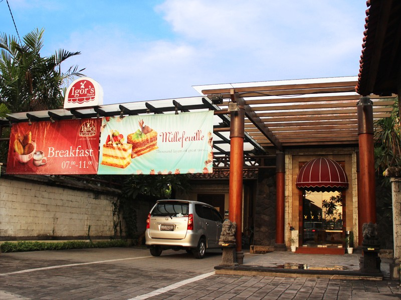 Seminyak Outlet - Igor's Pastry store